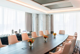 Boardroom with natural daylight