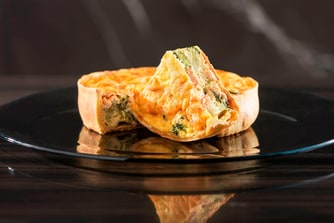 Link@Sheraton Cafe - Salmon & Broccoli Quiche