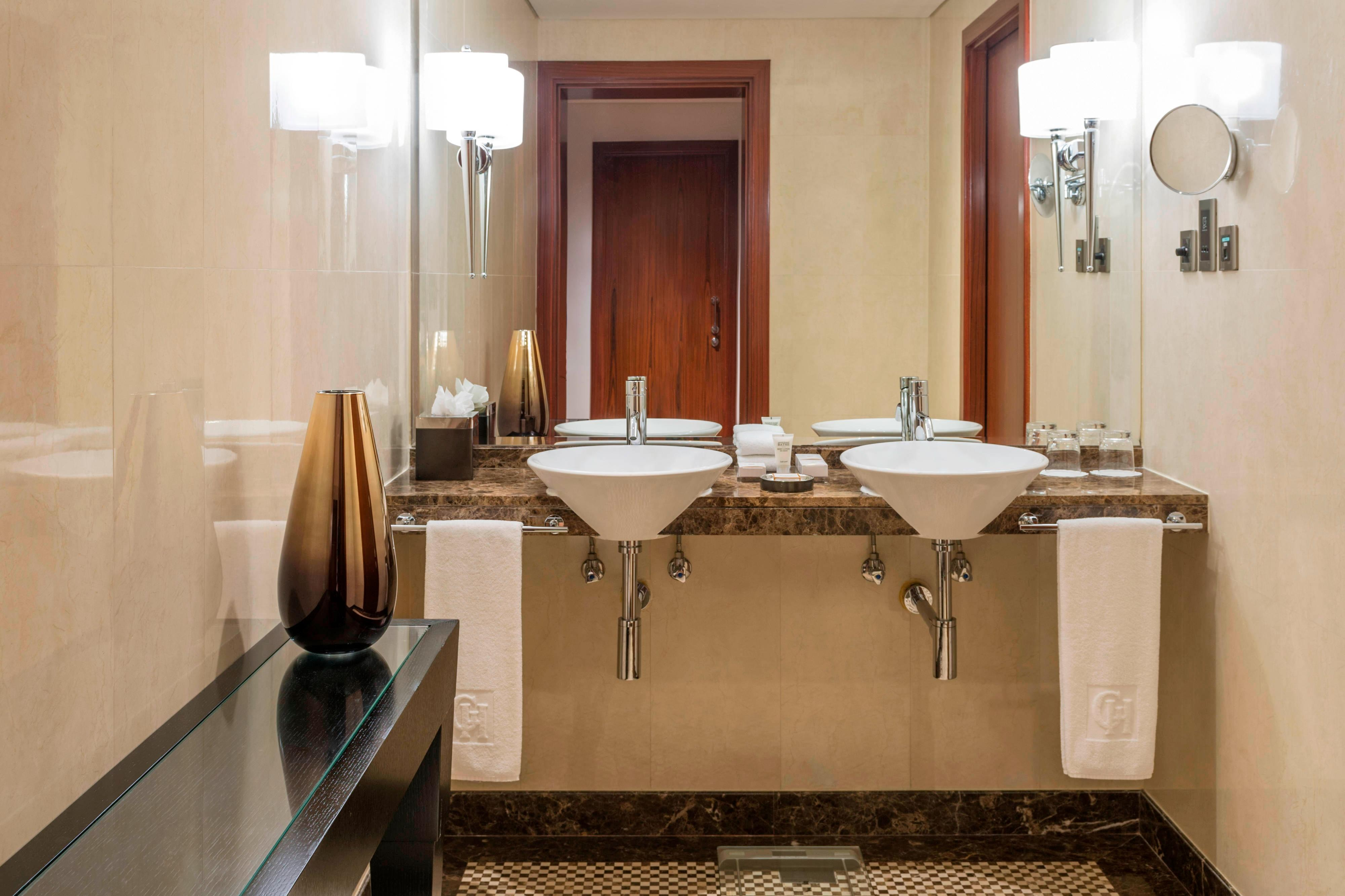 Two-Bedroom Residence Apartment Bathroom