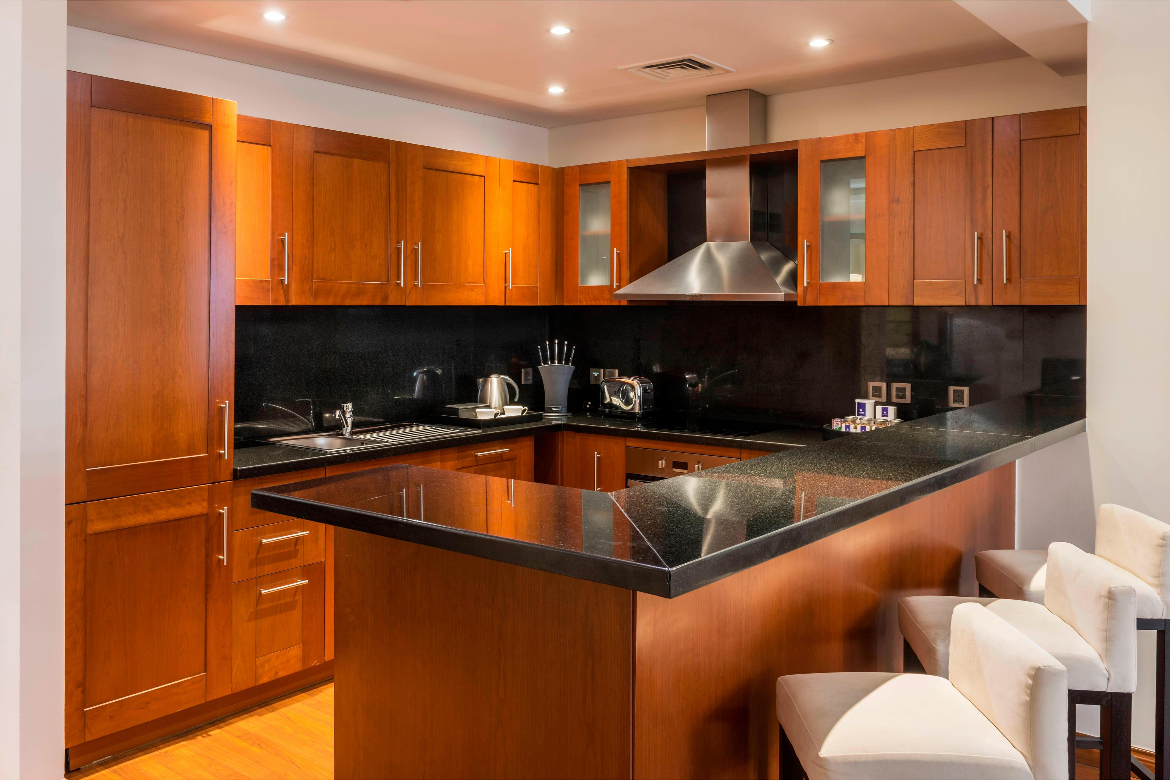 One-Bedroom Residence Apartment Kitchen