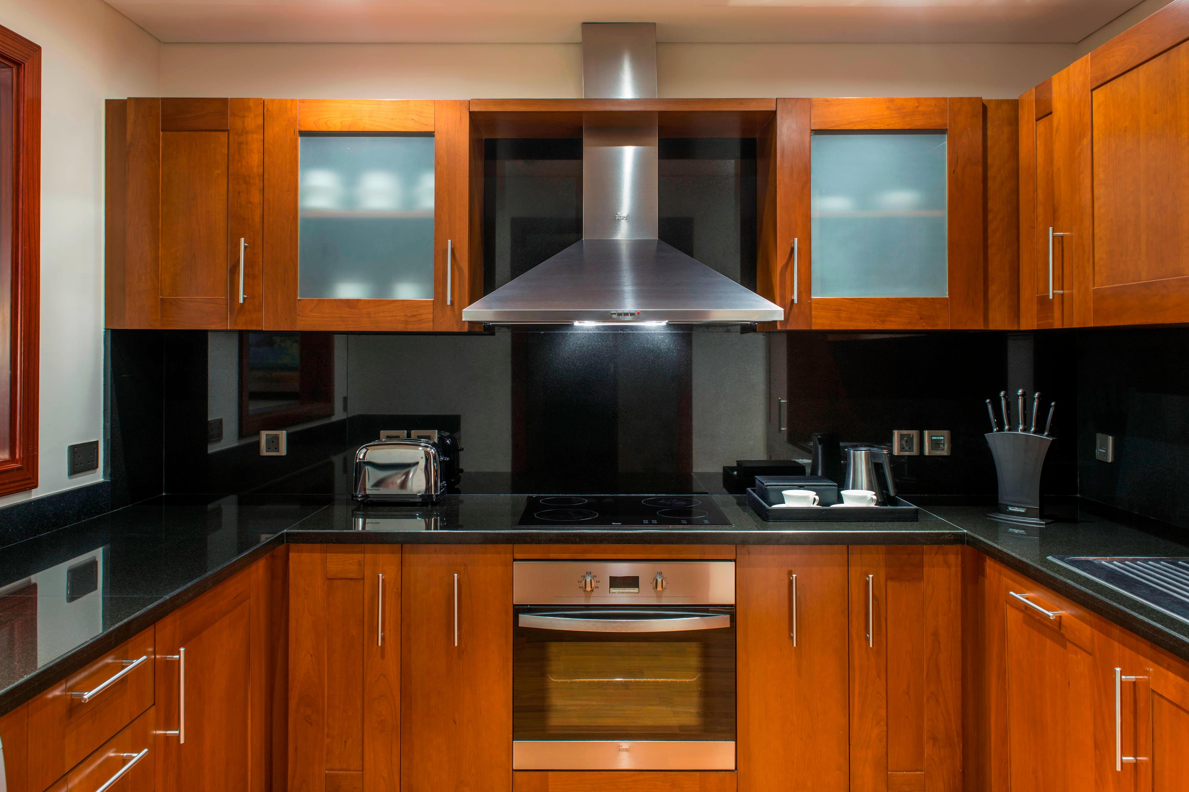 Two-Bedroom Residence Apartment Kitchen
