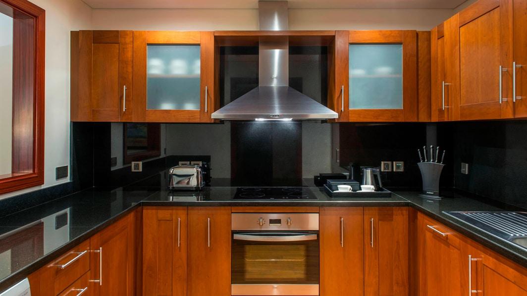 Apartamento Residence com dois quartos - cozinha