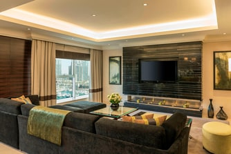 Royal Suite - Living Area