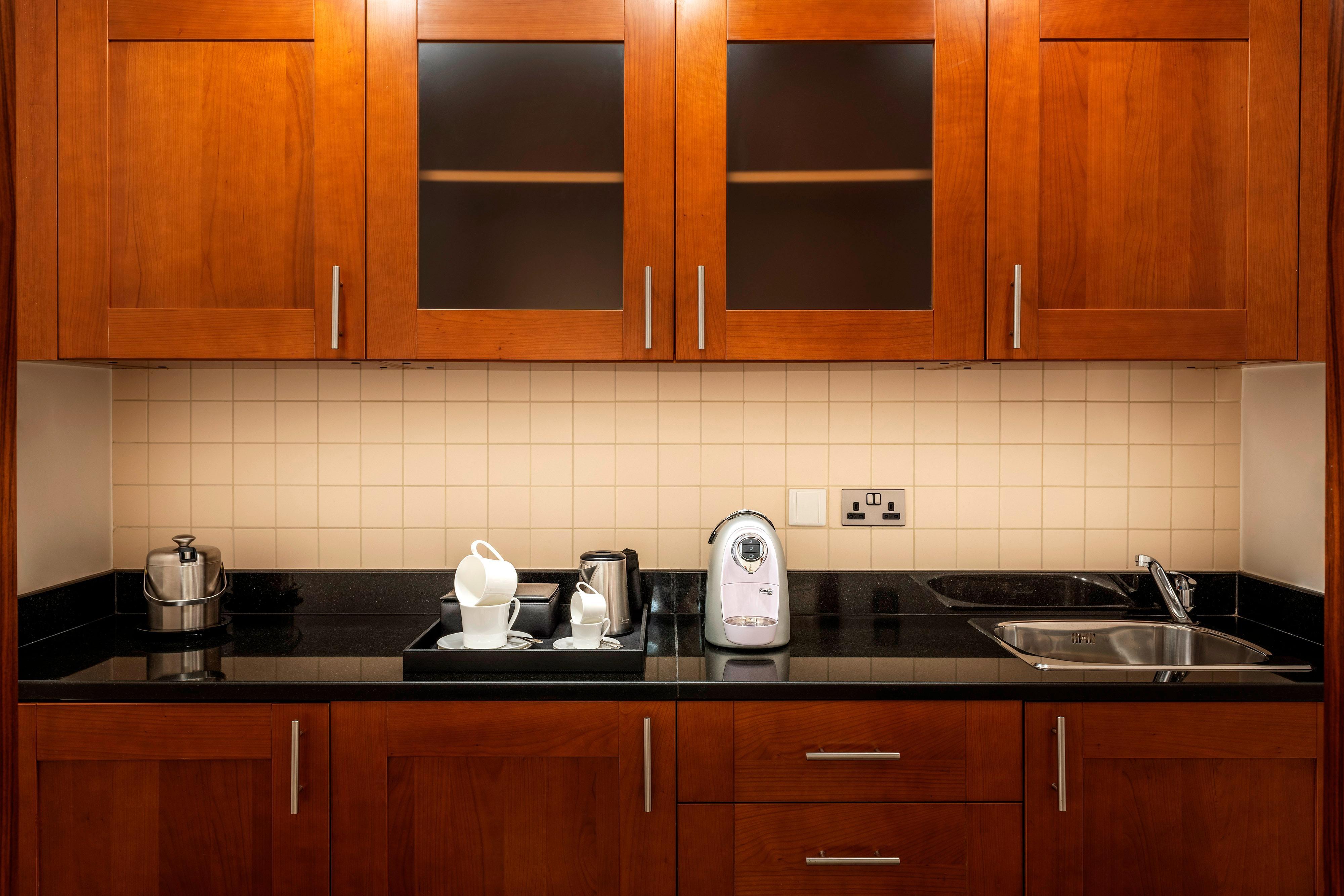 Suíte Deluxe - cozinha compacta