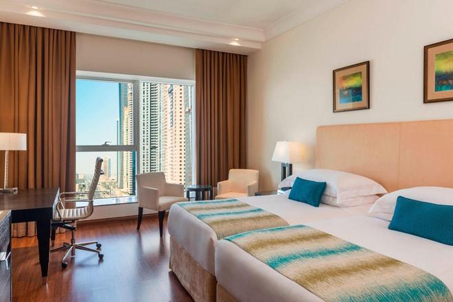 Three-Bedroom Apartment Residence Twin Bedroom