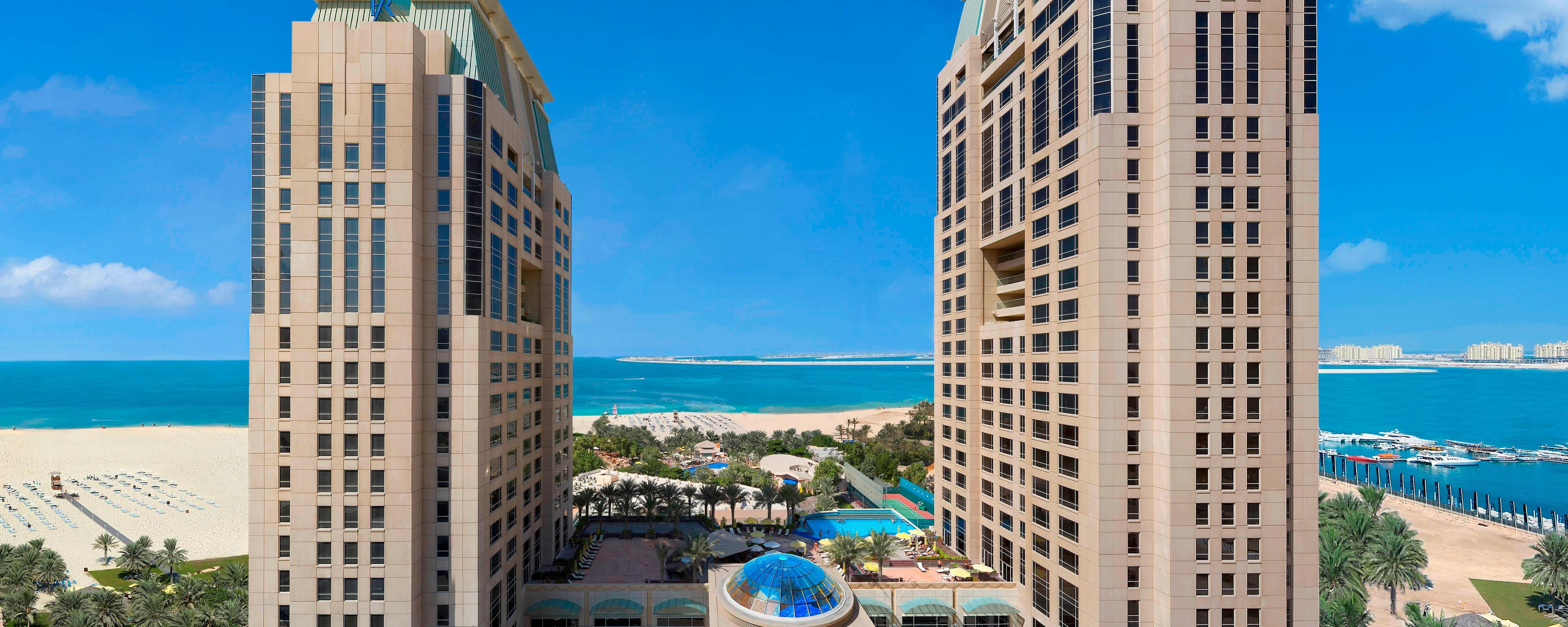 Dubai beach resort exterior