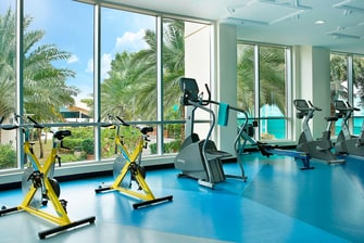 Fitnesscenter in Resort in Dubai