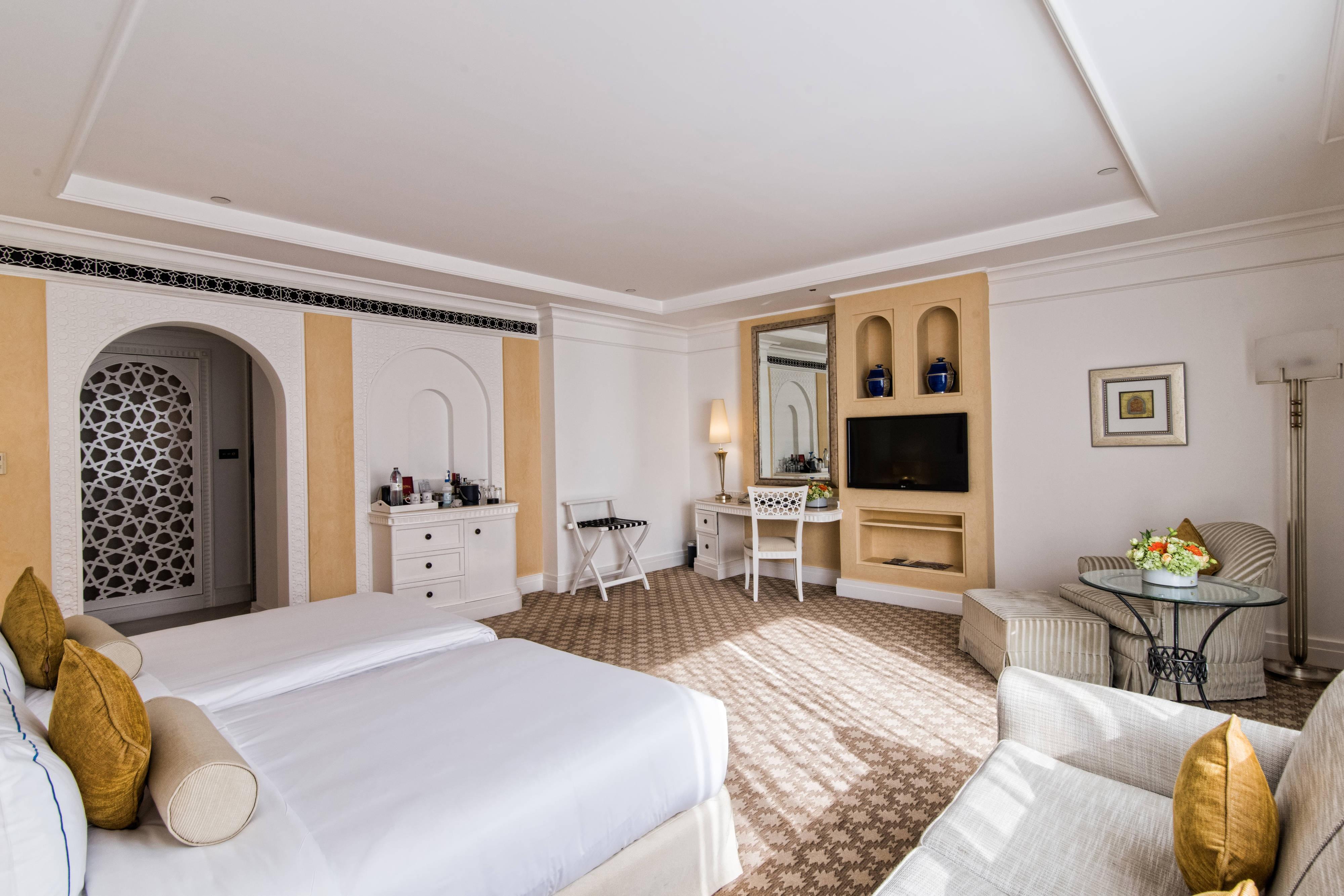 Chambre familiale Tower avec lits jumeaux
