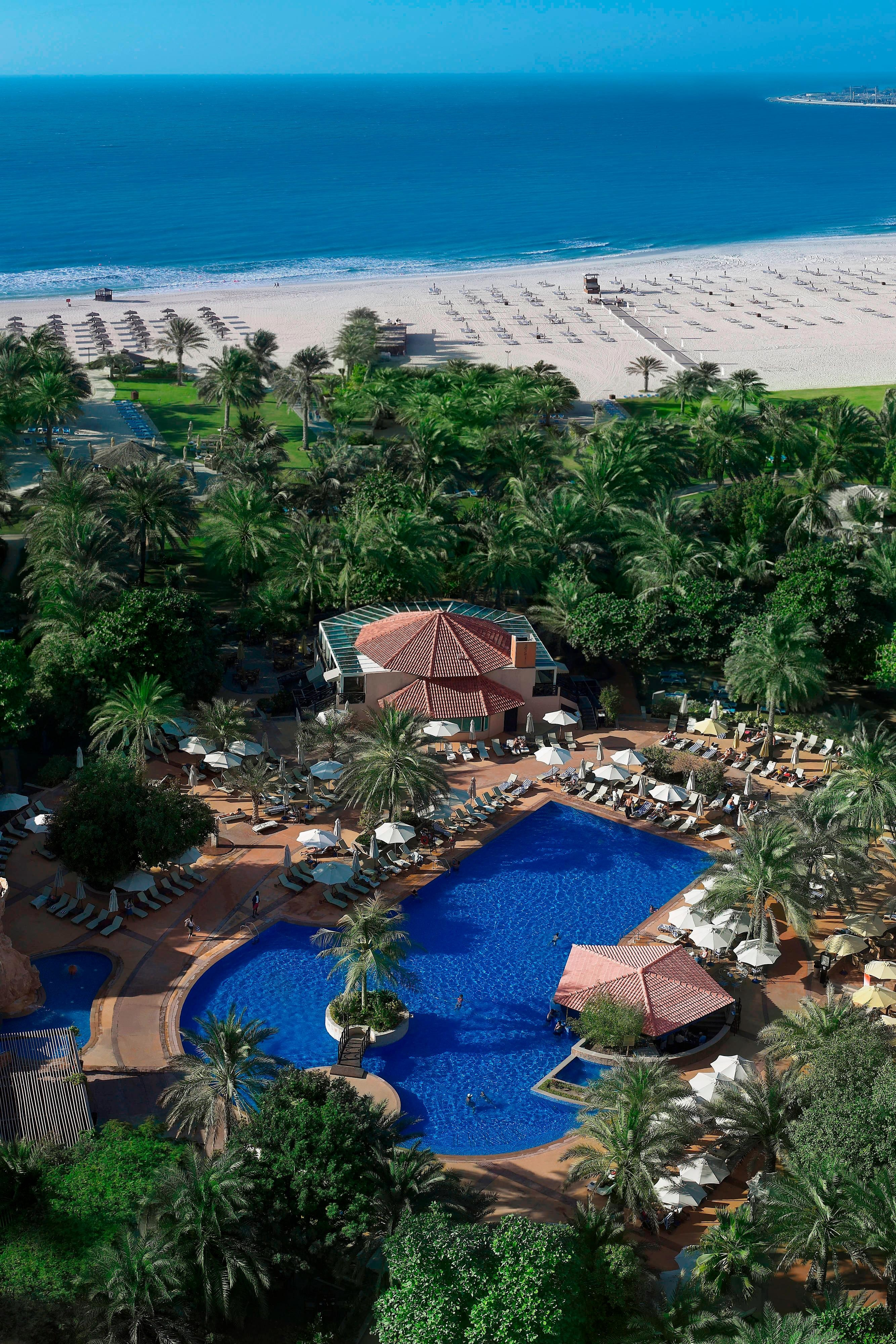 Dubai hotels with private beach