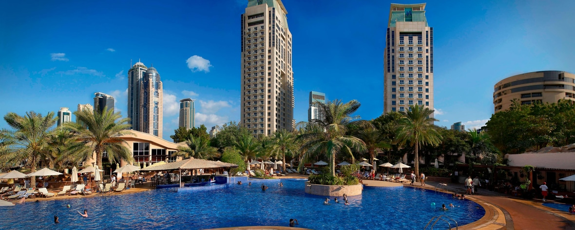 Jumeirah Beach hotel with pool