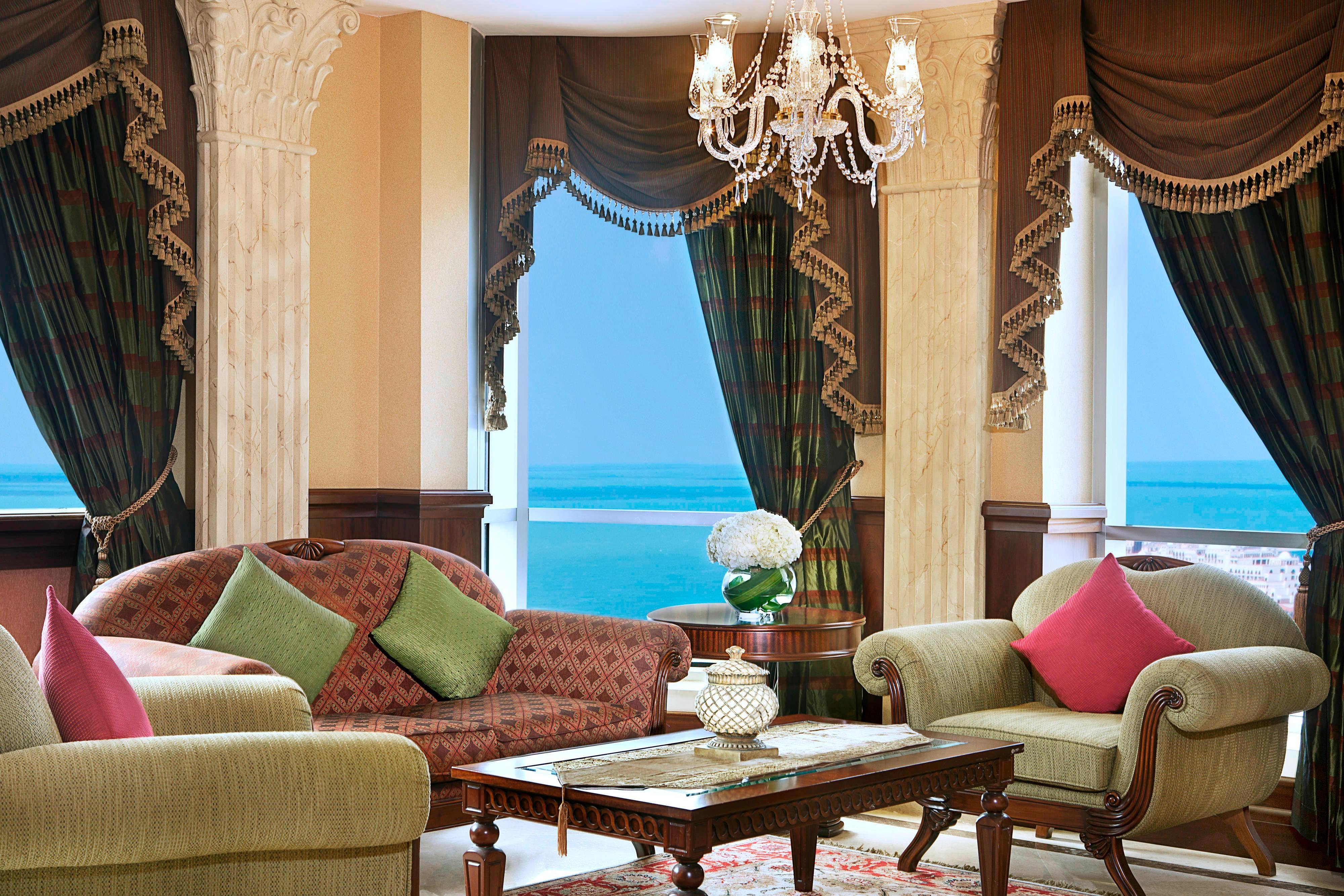 Wohnzimmer der Präsidenten Suite in Dubai