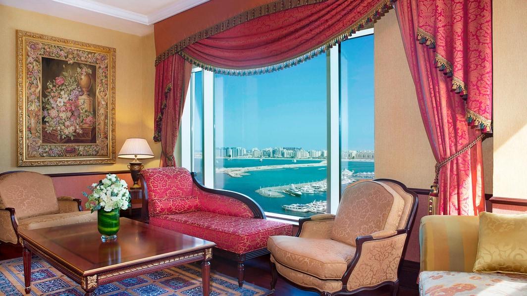 صالة جناح فندق دبي