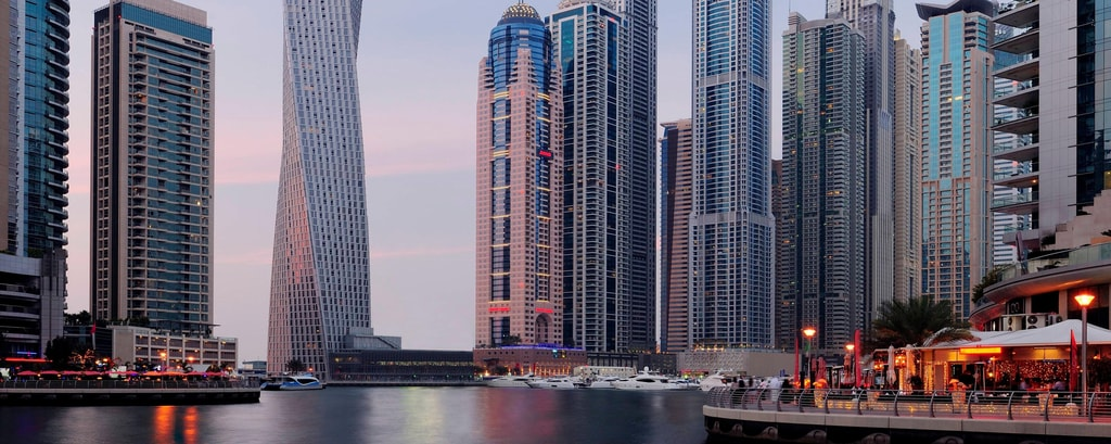 Hotels near jumeirah beach residence dubai marriott for Upcoming hotels in dubai