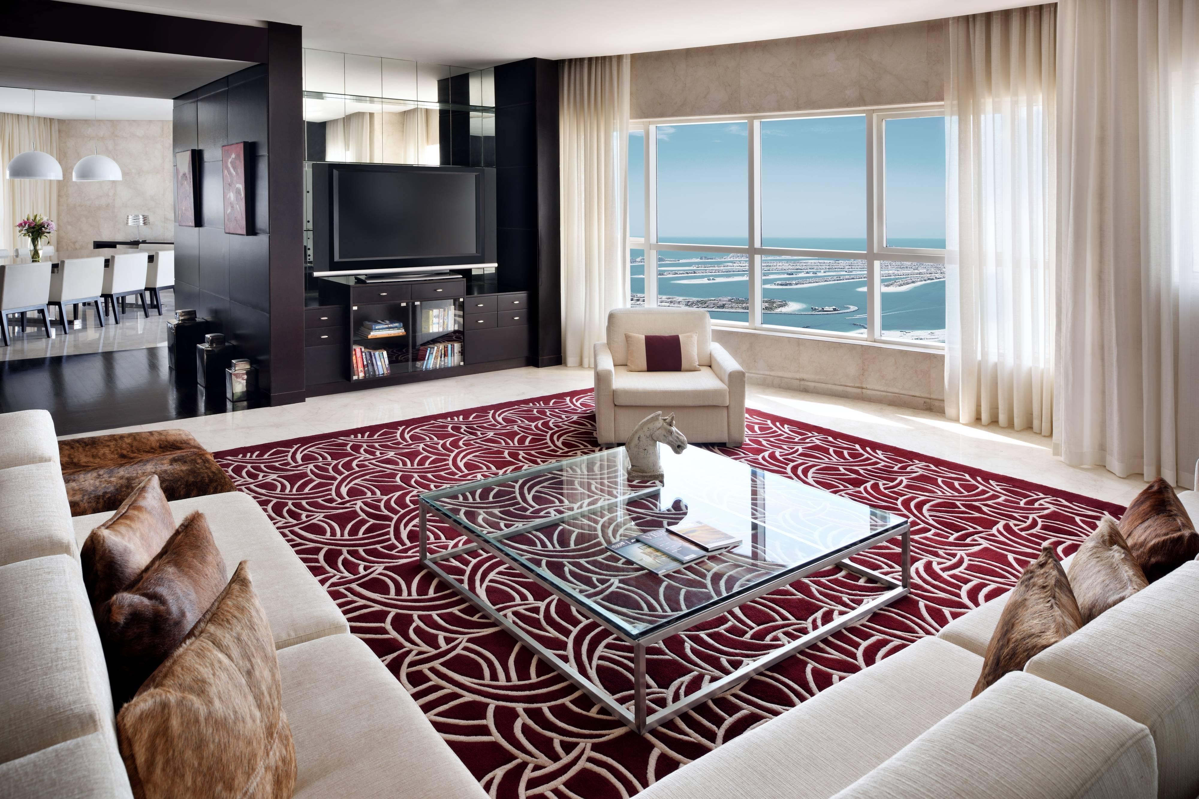 جناح بنتهاوس يتكون من ثلاث غرف نوم - غرفة معيشة