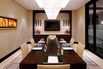 Dubai business boardroom