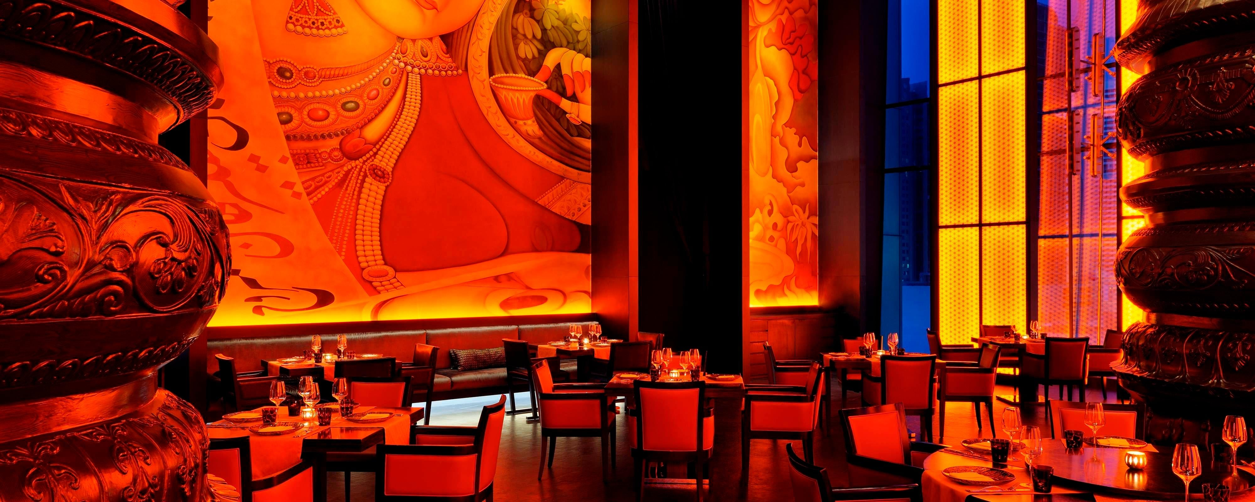 Jw Marriott Marquis Dubai Indian Restaurant