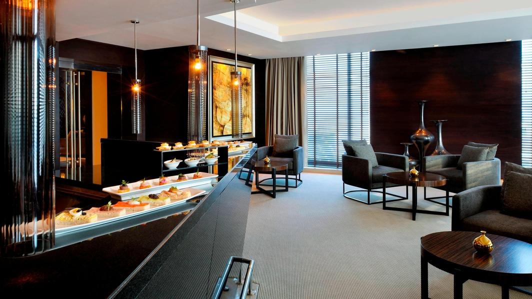 Louge executivo do hotel de Dubai