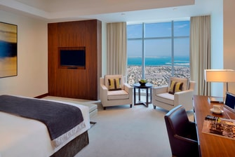 Dubai deluxe Sea View room