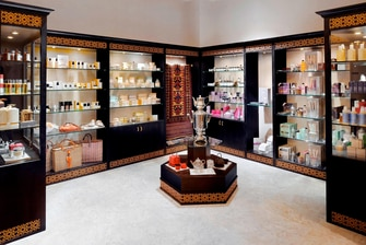Dubai spa retail shop