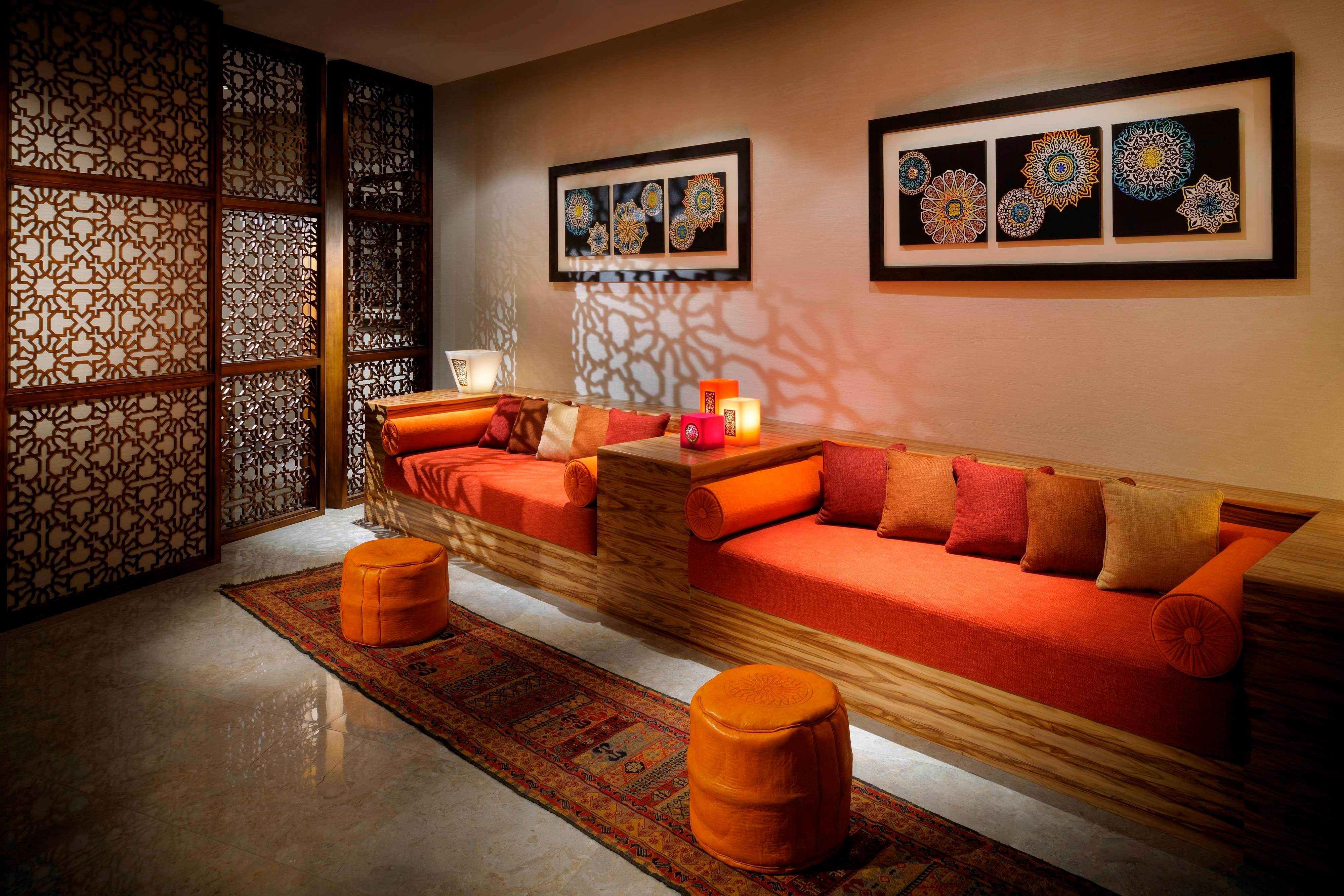 Dubai Spa reception area