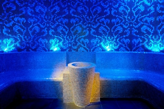 Dubai spa steam room