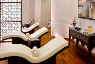 Dubai Spa relaxation area