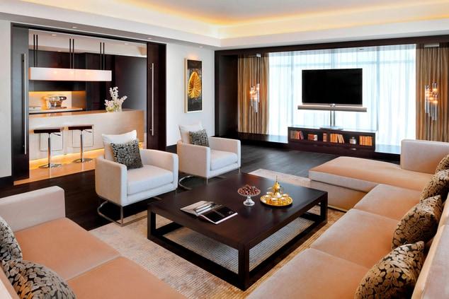 Dubai penthouse suite