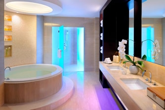 Dubai penthouse suite bathroom