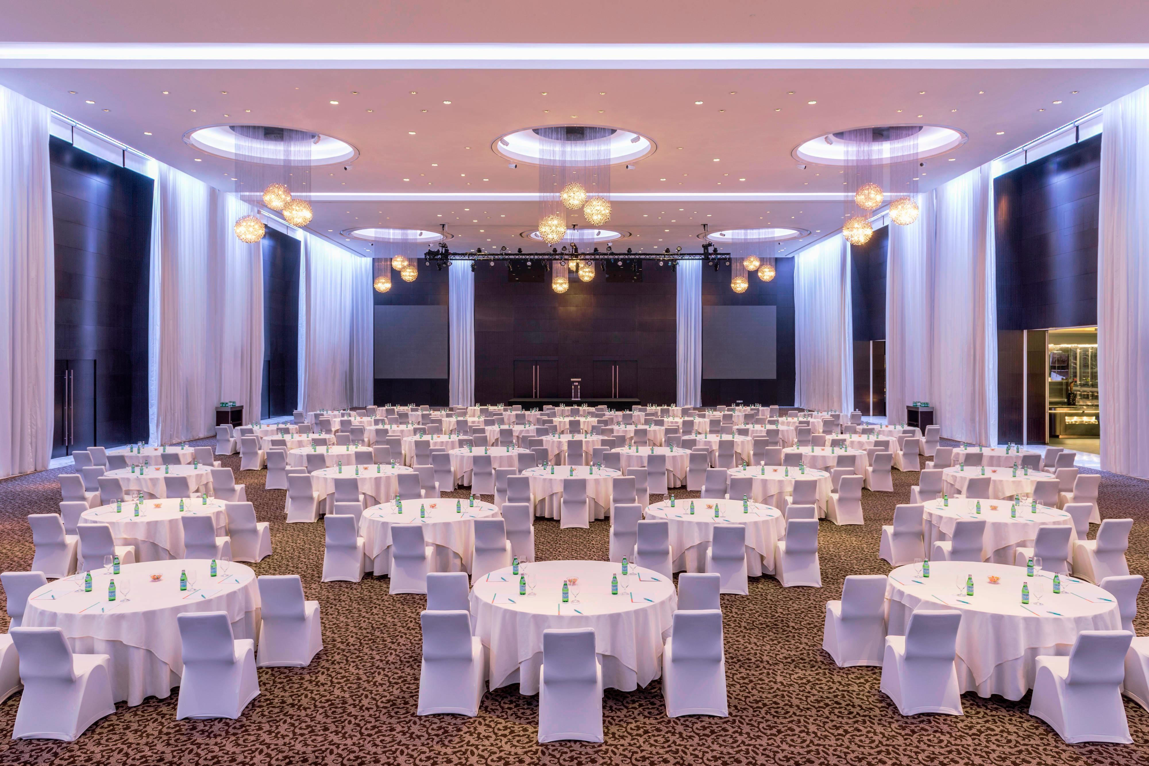 Great Ballroom CaBaret Setup