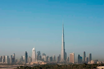 Dubai Stadtblick