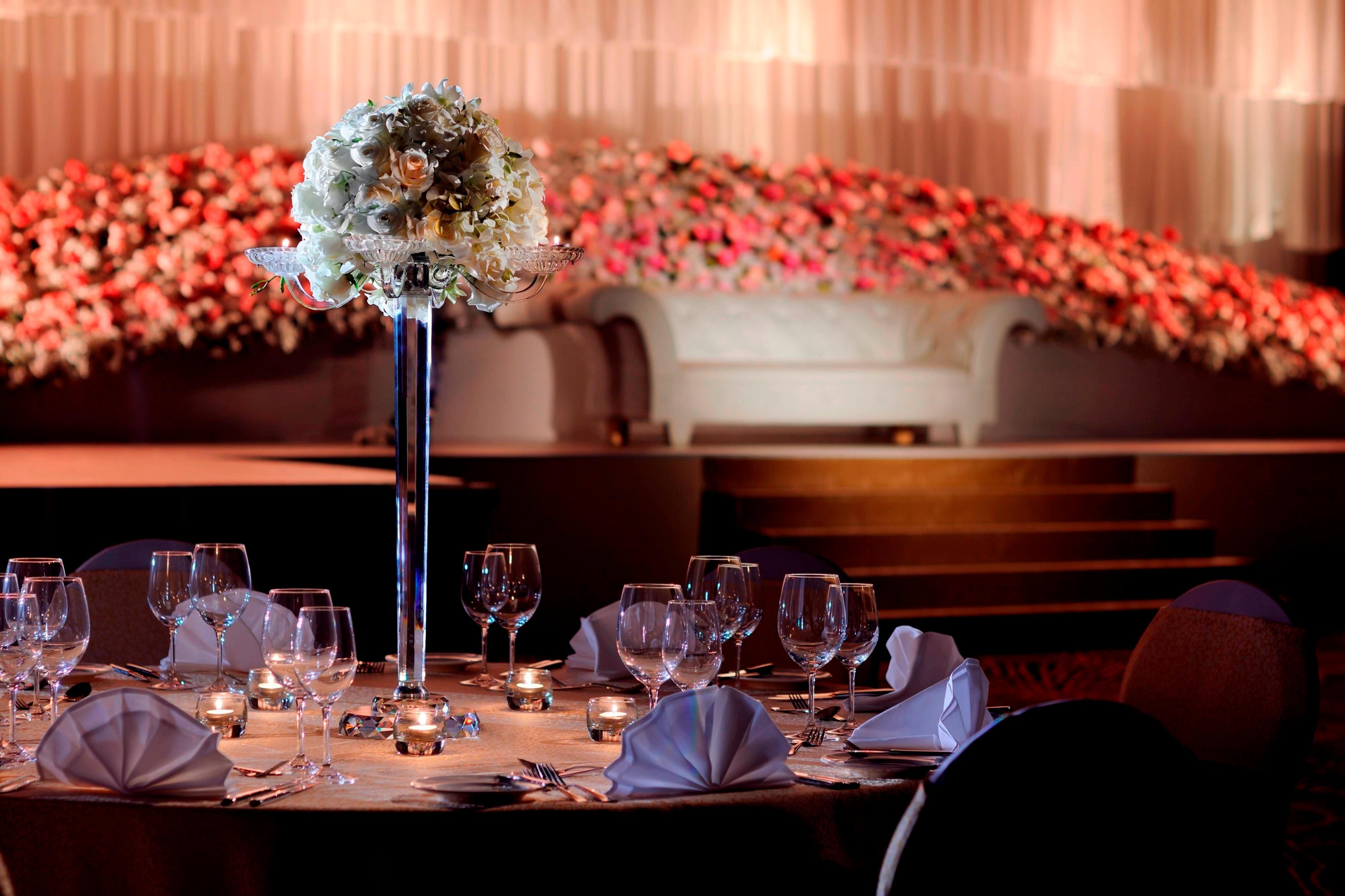 Dubai Luxus-Hochzeitssaal