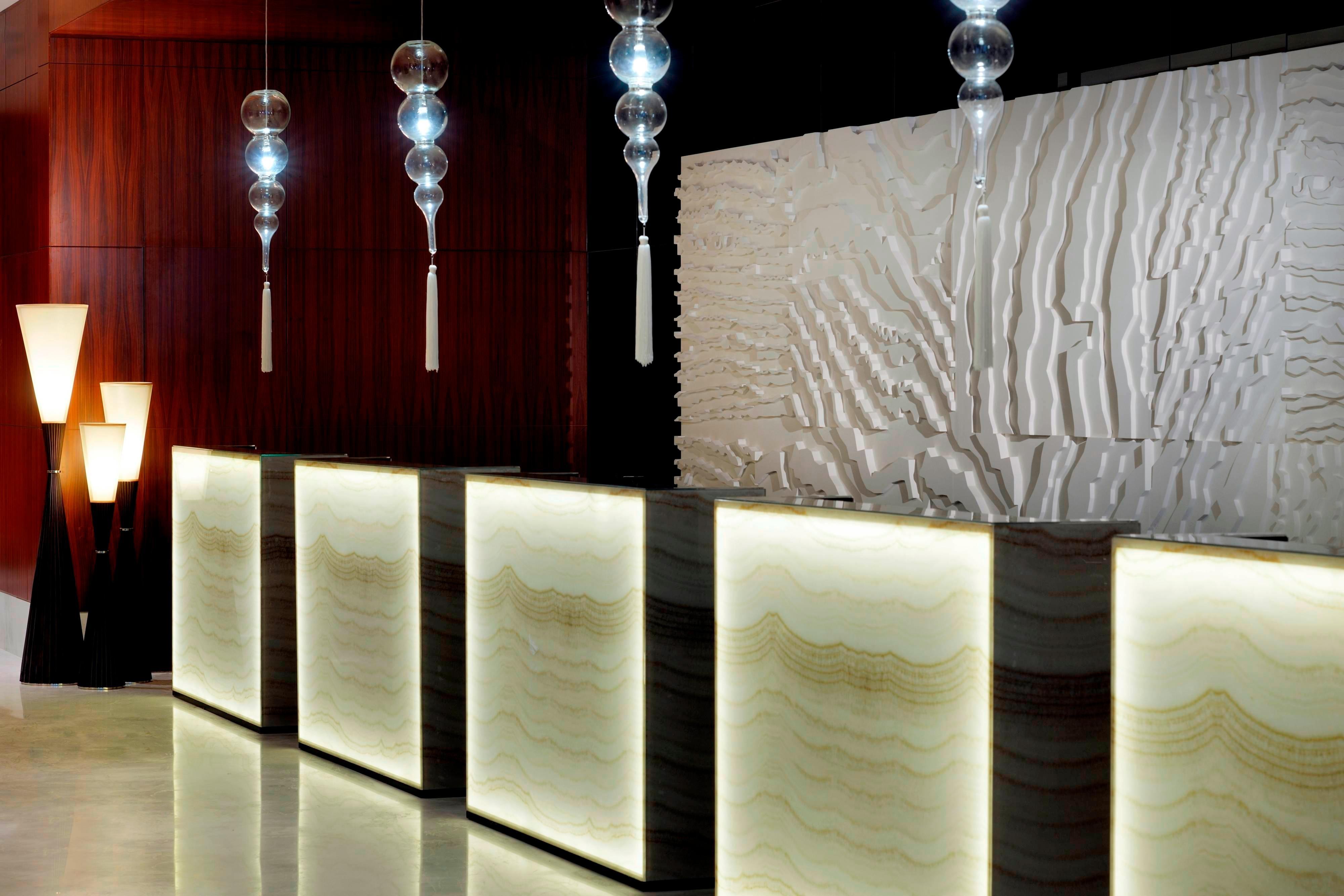 Dubai Hotel Rezeption