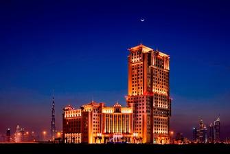 Al Jaddaf Dubai Hotel Außenansicht
