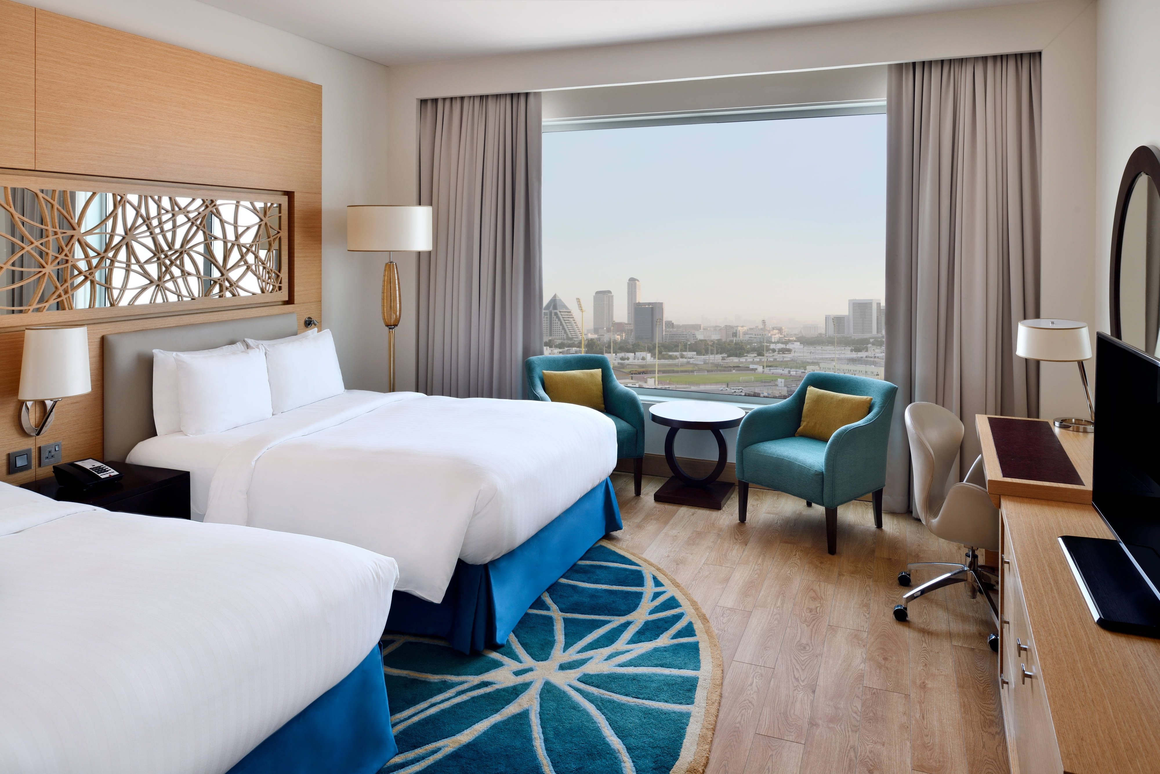 Executive Twin/Twin Guest Room - City View