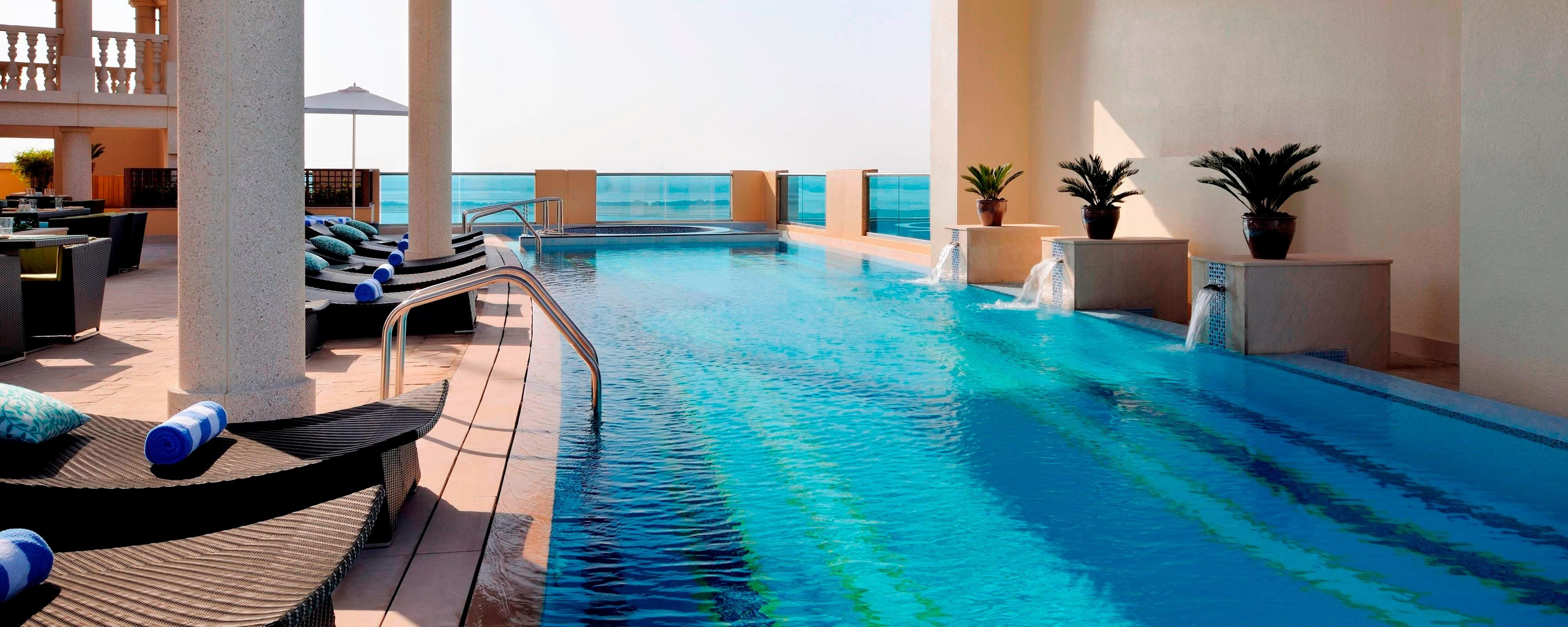 Dubai hotel with outdoor pool