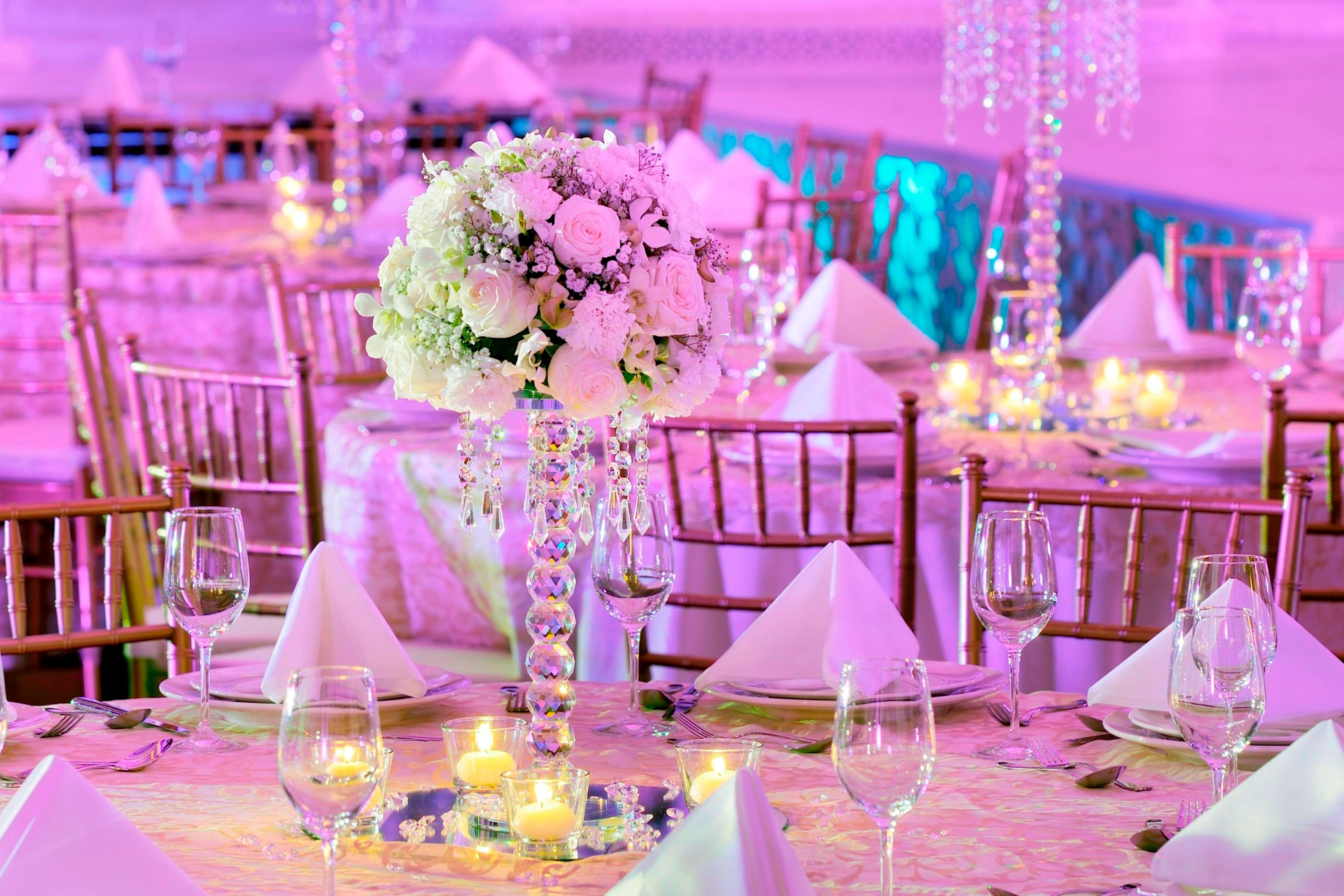 Wedding reception venues in Dubai
