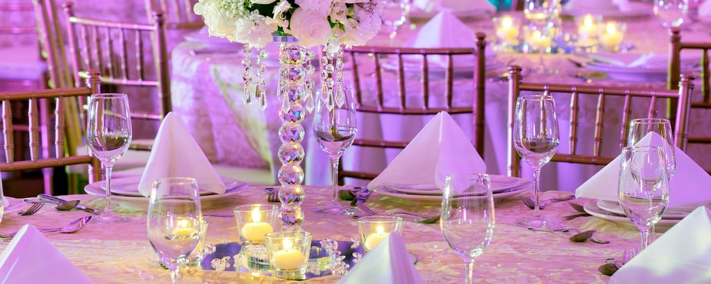 Wedding reception venues in Dubai