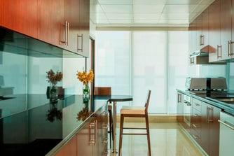 شقة بثلاث غرف نوم - المطبخ