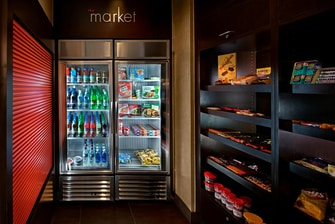 hotel snacks and convenience shop