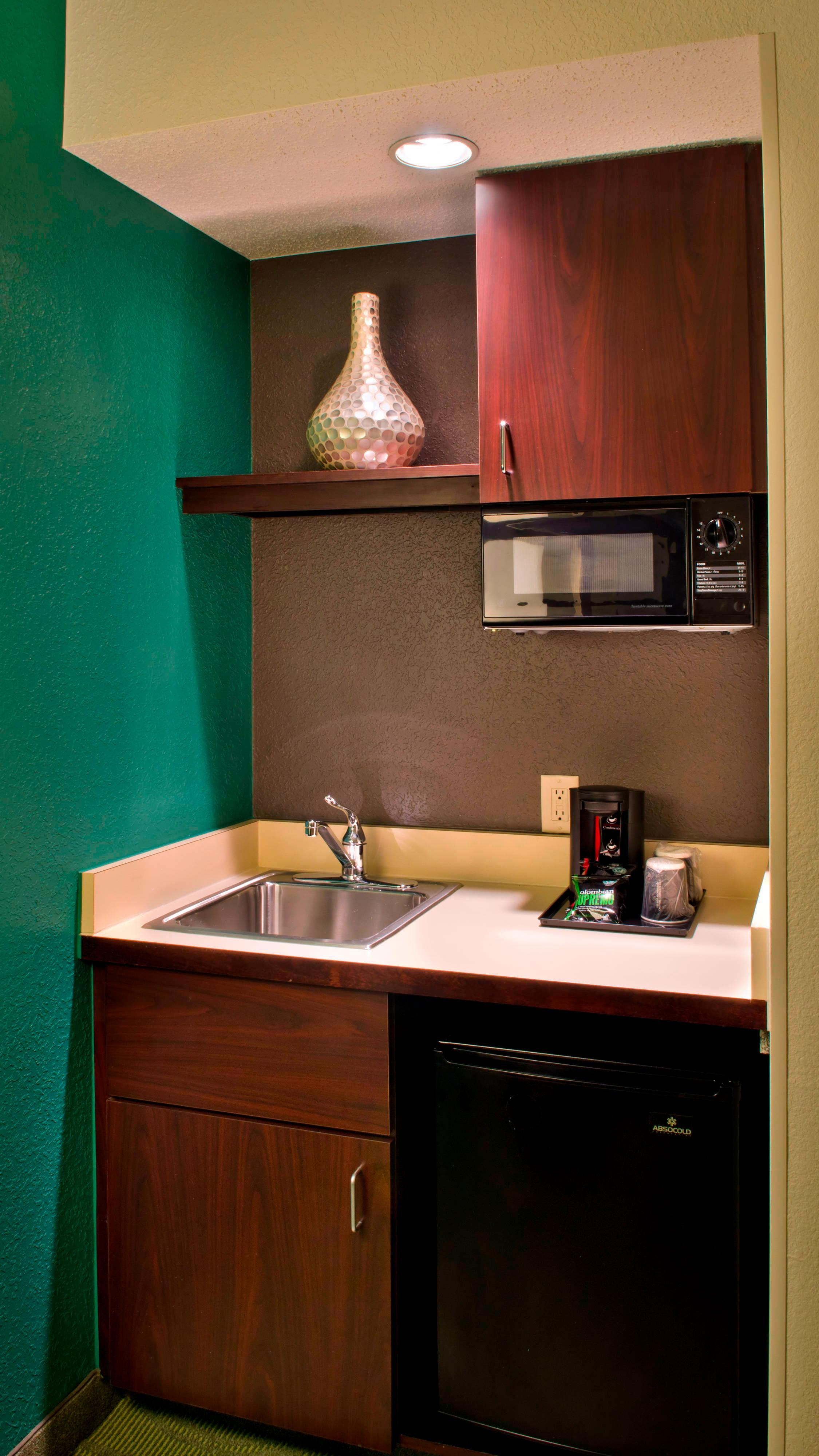Suite Living Area - Kitchenette