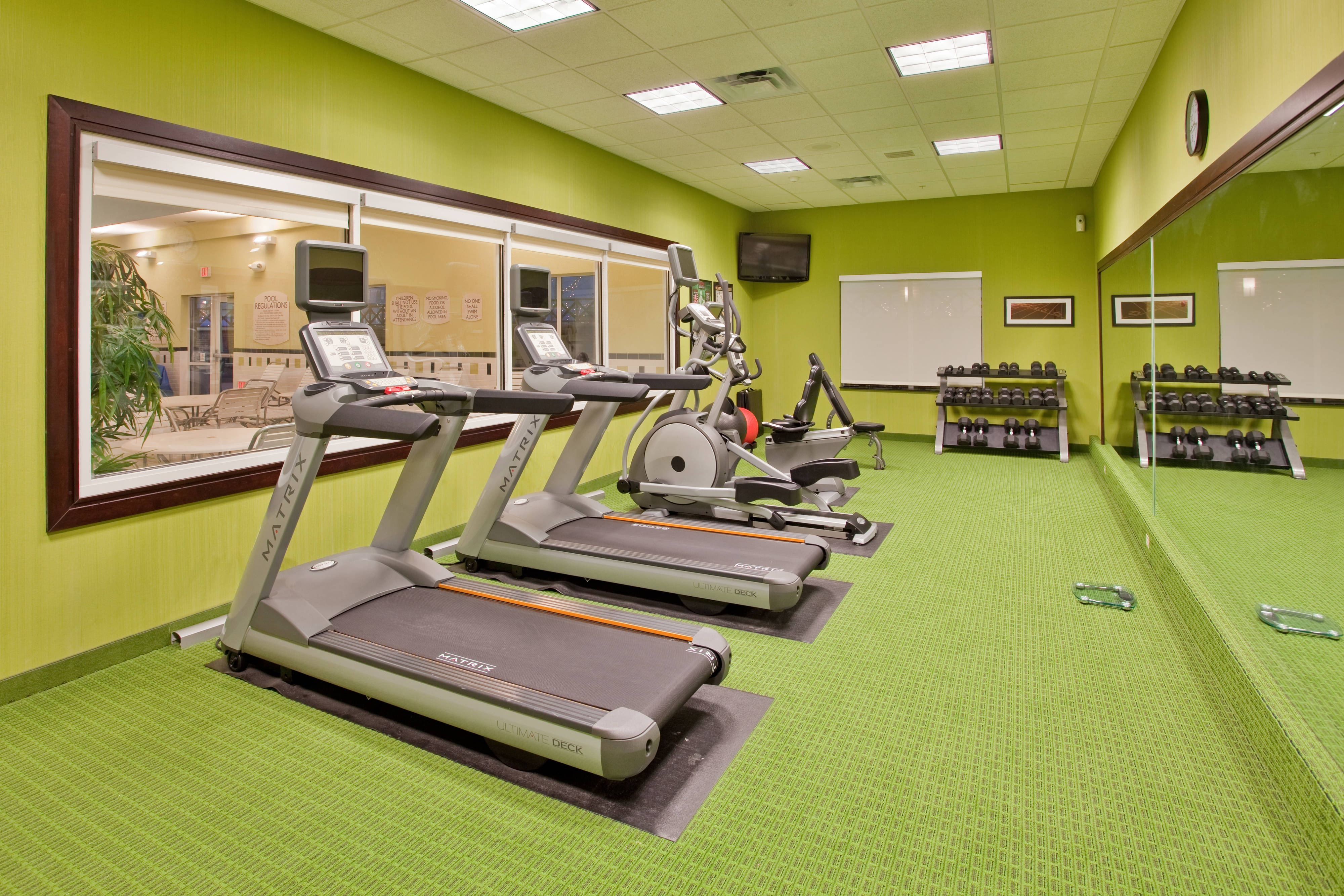 Fairfield Inn & Suites Kearney Fitness Center