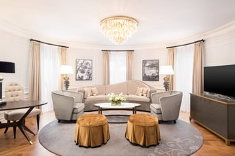 Suite Royal - Sala de estar