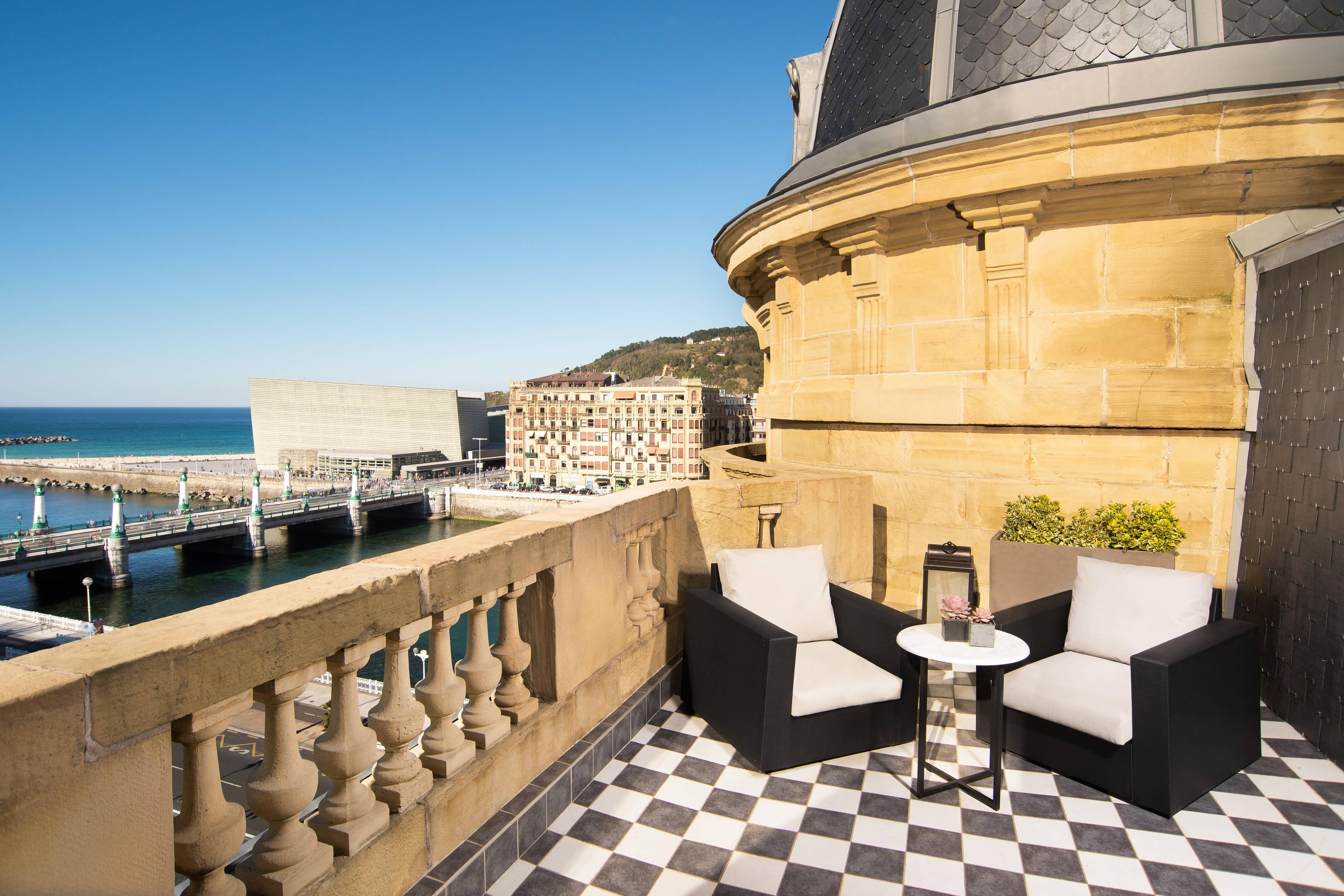 Suite con terraza Royal, terraza