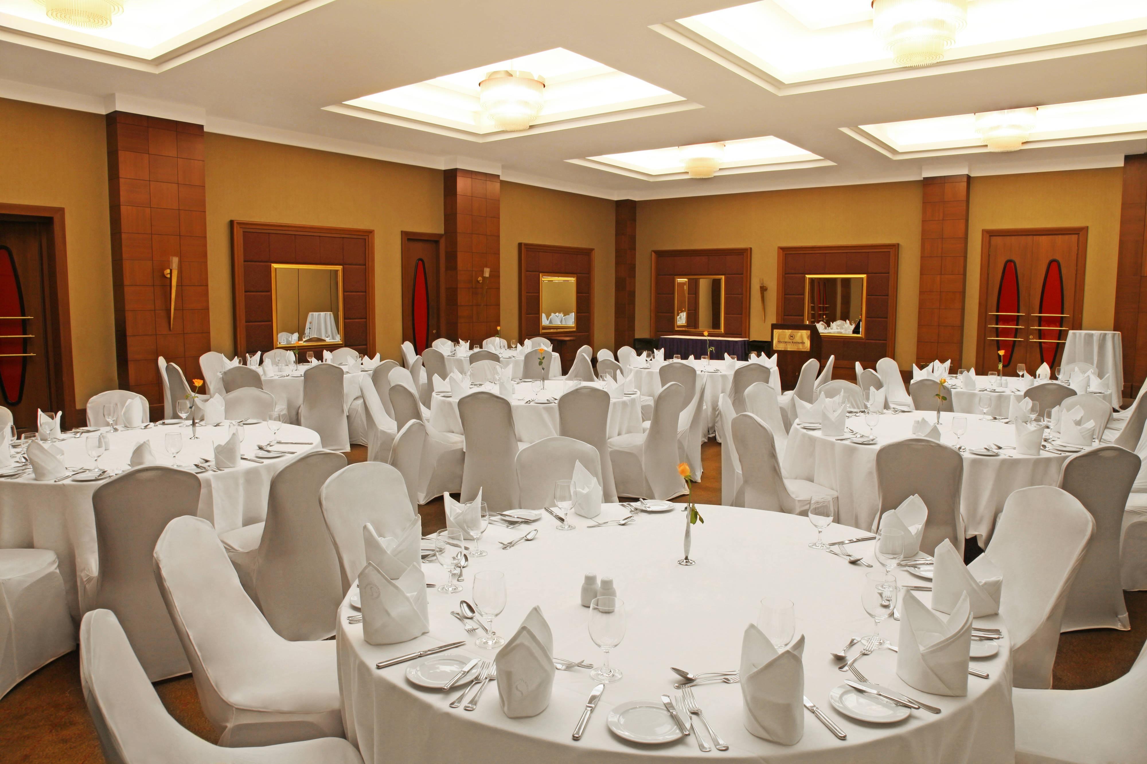 Rwenzori Ballroom - Banquet Dinner