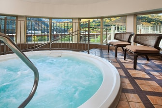 Indoor WhirlPool Spa