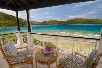 Villa de cuatro dormitorios - Vistas desde el balcón