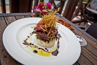 Scrub Island Resort dining