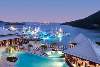 Ocaso en el Resort de Scrub Island