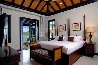 Gran suite en Scrub Island con vistas al océano