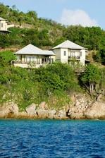 Villa privada de dos dormitorios en las Islas Vírgenes Británicas